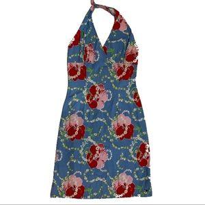 Tommy Hilfiger Floral Halter Dress - Size Medium